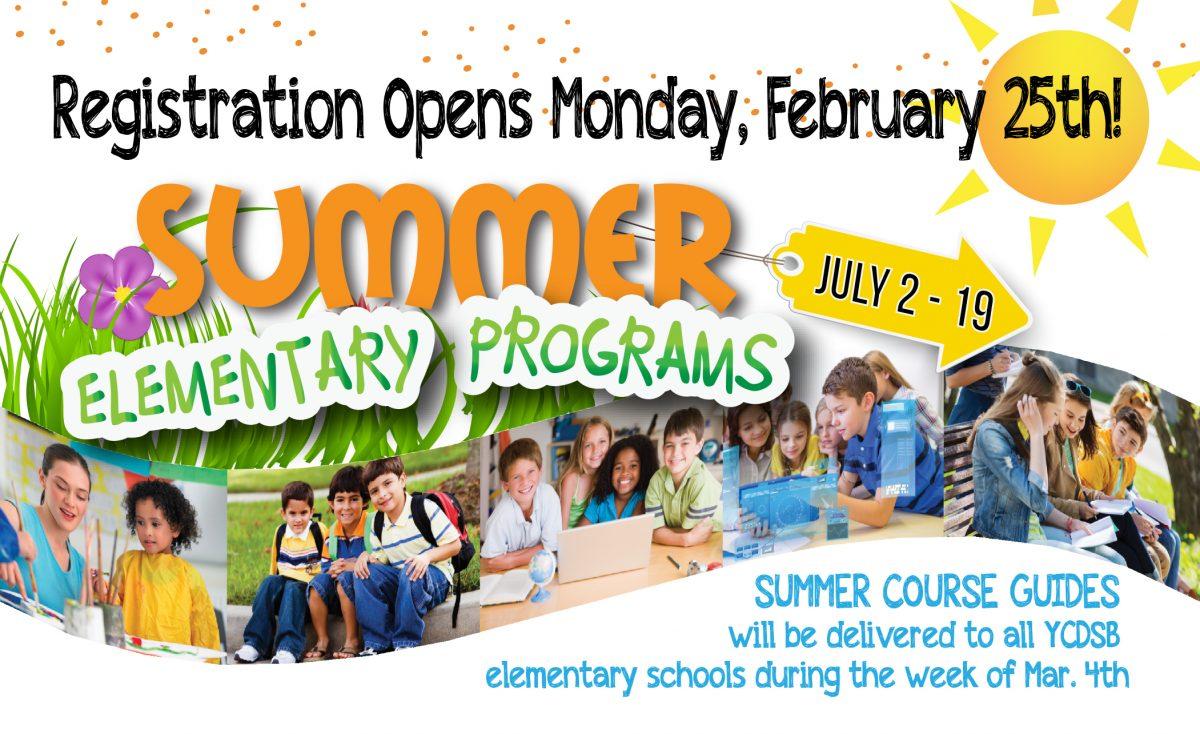 Summer Elementary Programs